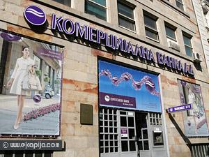 Gubitak Komercijalne banke u prvih šest meseci 2,6 milijardi dinara