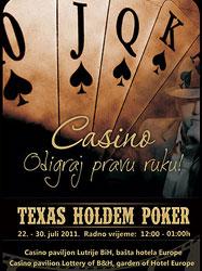 Texas holdem poker sarajevo