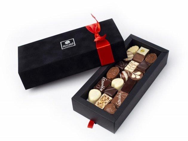 Ekapija Originelles Geschäftsgeschenk Erstklassige Schokolade In