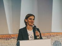 Ana Brnabić, mandatarka za sastav Vlade Srbije - Od deljenja flajera do premijera