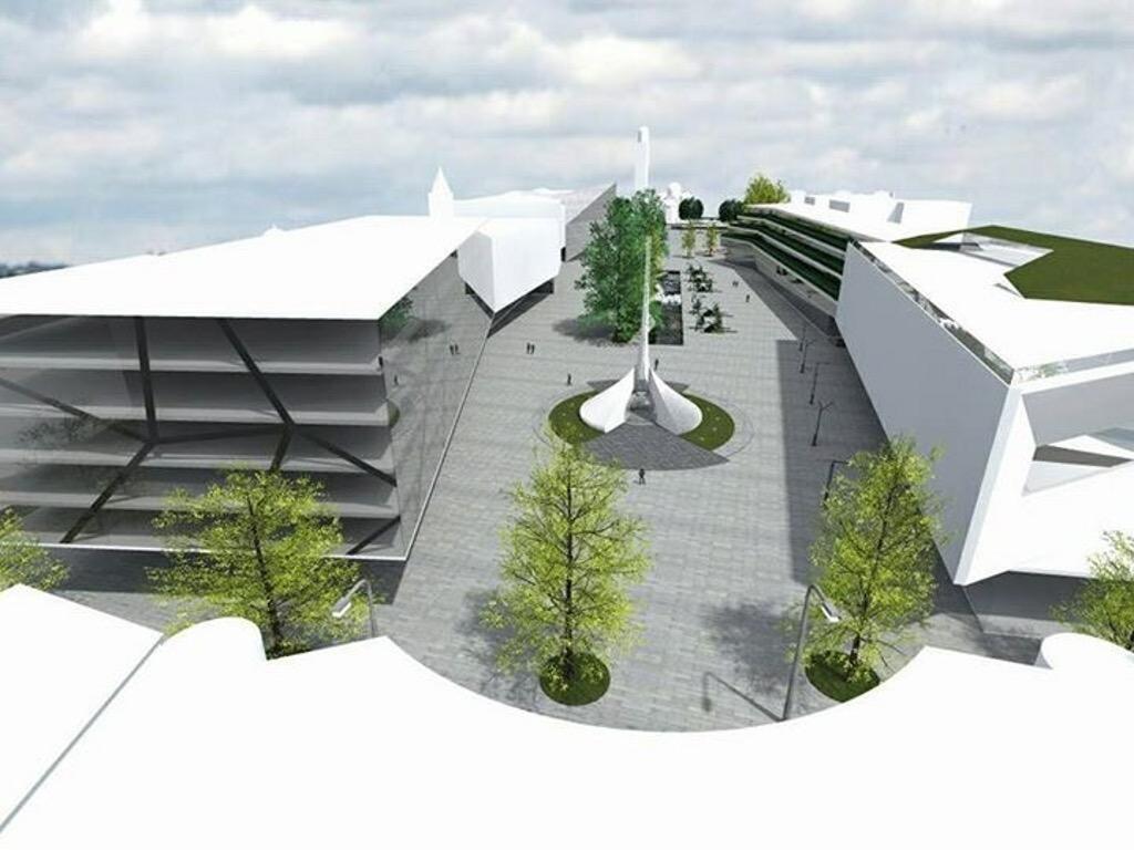 Umjesto City Malla trg ili park - Grad Banjaluka predstavio ideju uređenja centralne gradske zone (FOTO)