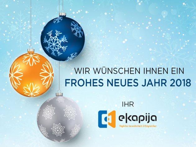 eKapija | Frohes neues Jahr 2018!