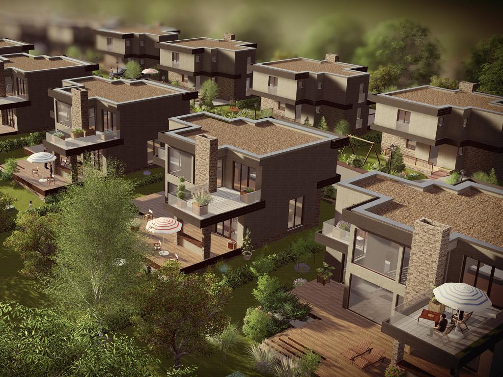 Turski i švajcarski investitori grade naselje Golden Hills u Tarčinu - Investicija vrijedna oko 8 mil EUR (FOTO)