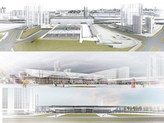 Ekapija Autobuska Stanica Sa 15 Dolaznih I 58 Odlaznih Terminala