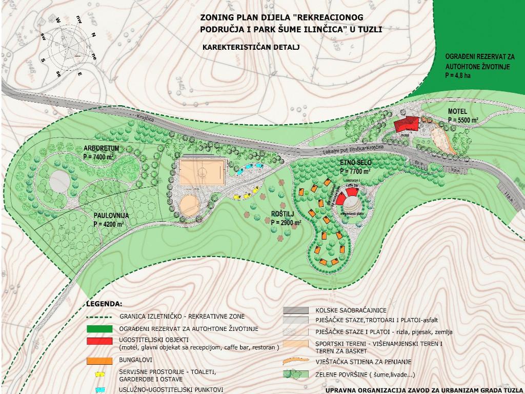 Tuzla već počela rekonstrukciju izletišta Ilinčica - Uskoro javni poziv za izgradnju etnosela (FOTO)
