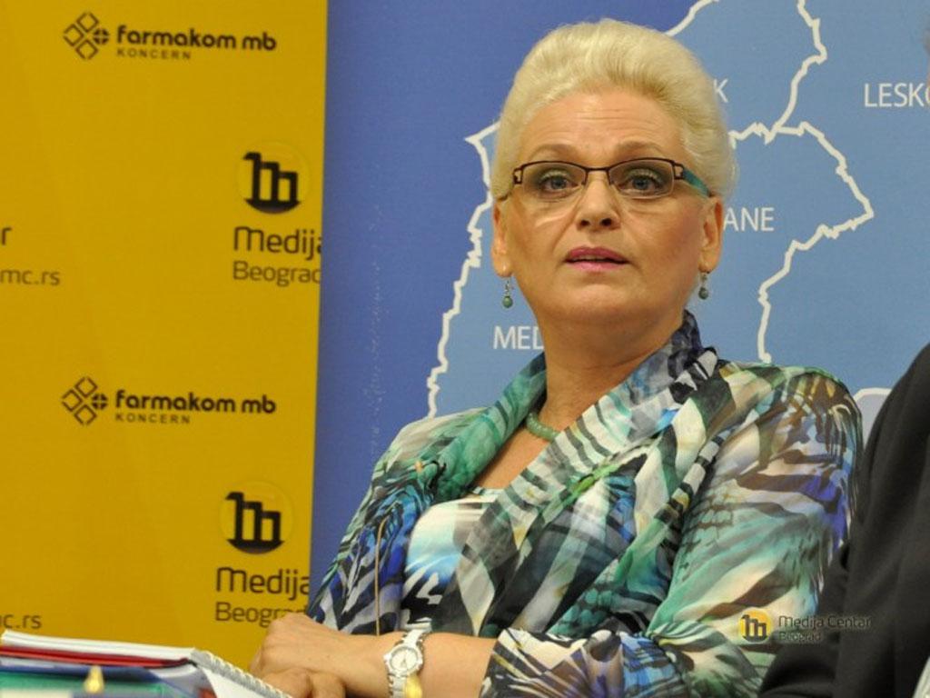 Jorgovanka Tabaković, SNS - biografija