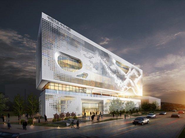 Ekapija Construction Of Chinese Cultural Center In New