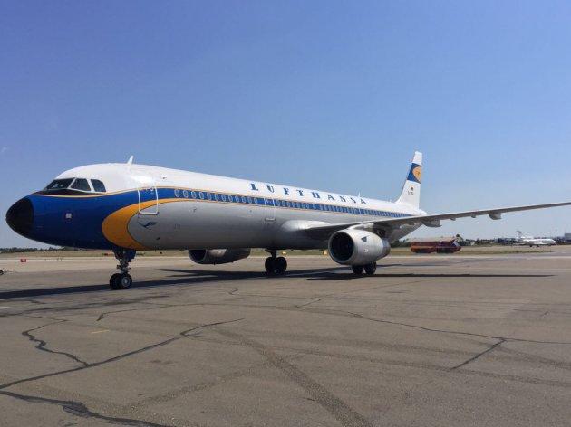 ekapija lufthansa flies from serbia for 50 years photo