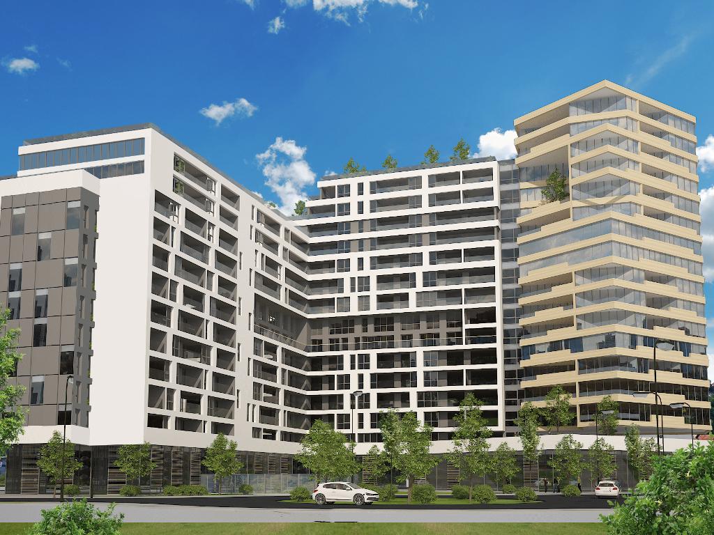 Na Otoci niče stambeno-poslovni kompleks Dijamant - Sarajevska firma E-spv ulaže 40 mil KM (FOTO)