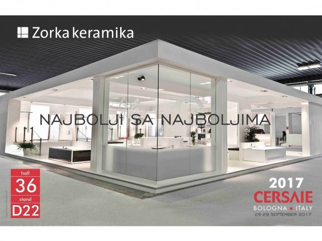eKapija | Zorka Keramika first local exhibitor at ceramics fair in