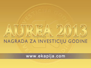 Who will win Investment of the Year Award in Serbia? - 2013 Aurea awards ceremony in Belgrade on March 27th