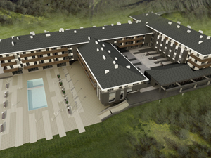 Serbia gets new ski center until end of 2011 - Hasty preparations for hotel opening on Stara Planina mountain