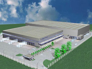 Serbia gets new logistics center worth EUR 10 million - Lagermax starts construction of warehouse in Simanovci