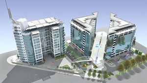 "(AG Real Estate) Project ""Savograd"" at 35,000 square meters in New Belgrade - end of spring 2008"