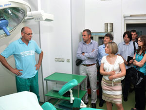 Spebo Medical has recently been visited by members of the German-Serbian association, among which eKapija was present