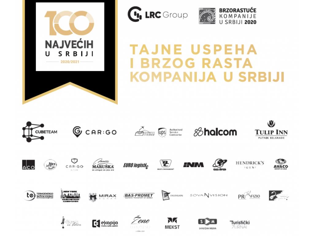 """Prvi B2B susret """"100 najvećih"""" u Beogradu - Tajne uspeha i brzog rasta kompanija u Srbiji"""