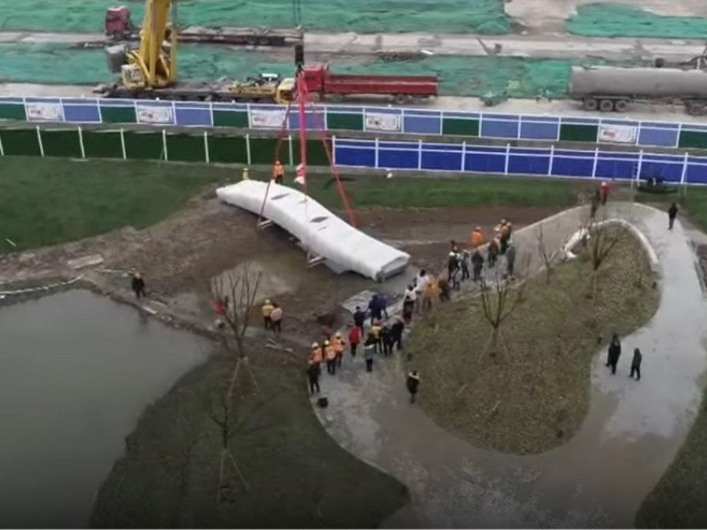 U Šangaju otvoren most izgrađen tehnologijom 3D štampe