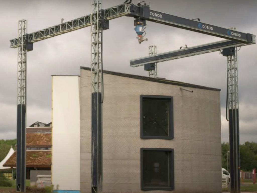 U Belgiji na 3D štampaču odštampana kuća visoka osam metara (VIDEO)