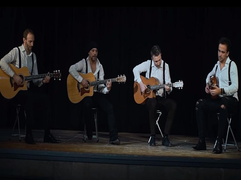 Popularni italijanski gitarski kvartet 40 Fingers 12. marta u Beogradu