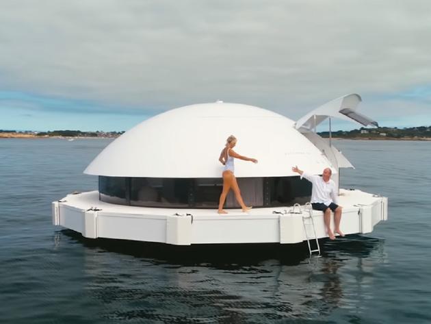 Prvi plutajući hotel na svijetu - Kapsule od 540 m2 rade na solarnu energiju