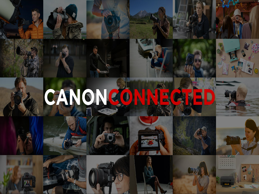 Canon Launches Canon Connected – Free Educational and Inspiring Content for Photography Enthusiasts
