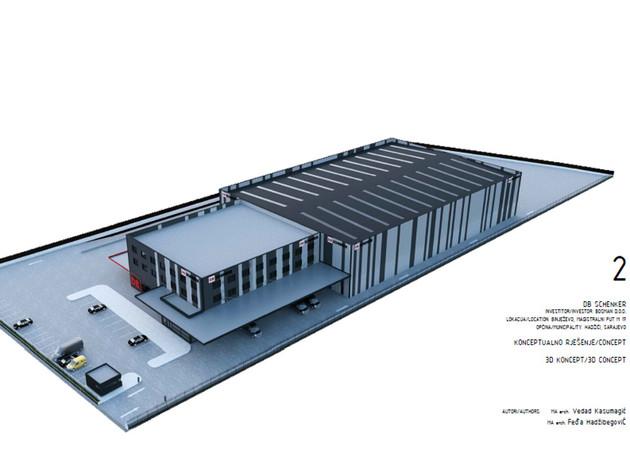 DB Schenker logistički centar
