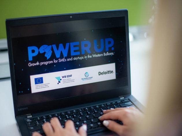 PowerUP - Program za inovativna mala i srednja preduzeća i start-up kompanije sa područja Zapadnog Balkana