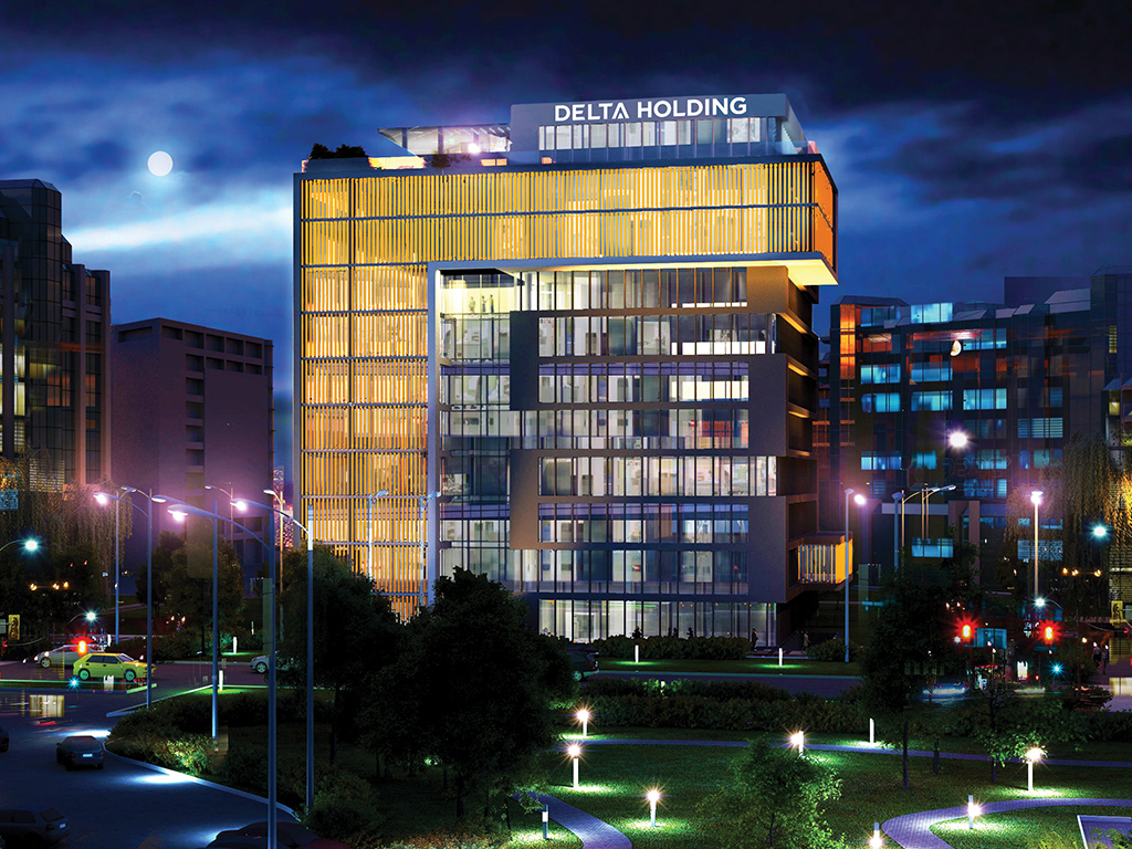 Delta House - Poslovni prostor A klase na 23.000 m2 gradi se uz pomoć najnovijih tehnologija (FOTO)