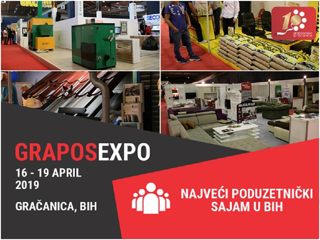 Otvoren 10. Grapos Expo u Gračanici - U fokusu razvoj malih i srednjih preduzeća