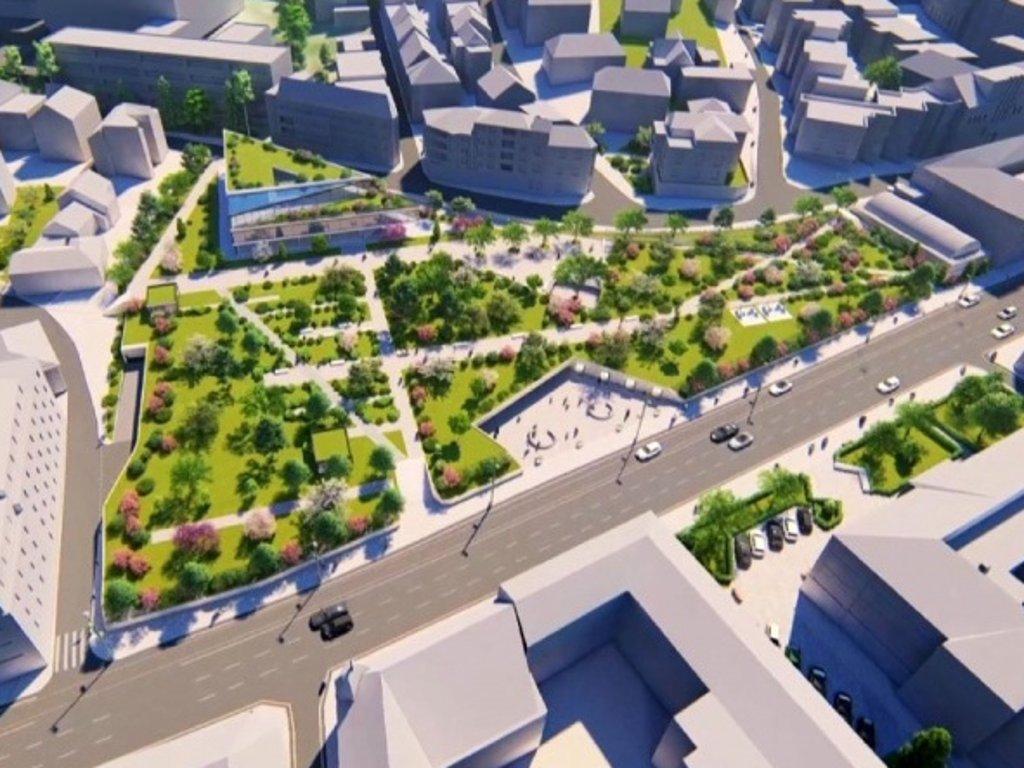 Nova zgrada Centralne banke biće izgrađena na Hastahani - Podržana prodaja dijela parka za 4,7 mil KM