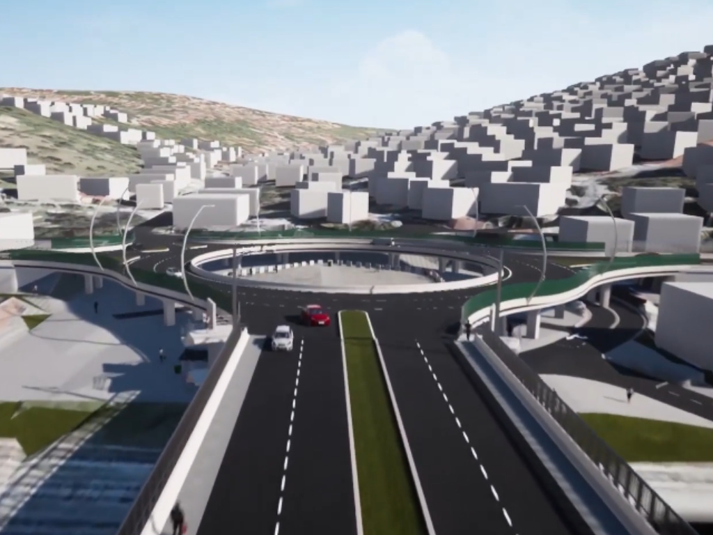 Počela izgradnja treće faze sarajevske Devete transverzale - Kružni tok gotov do kraja 2021. (VIDEO)