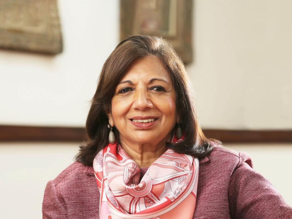 Kiran Mazumdar-Shaw direktorka kompanije Biocon proglašena za EY Svetskog Preduzetnika  2020. godine