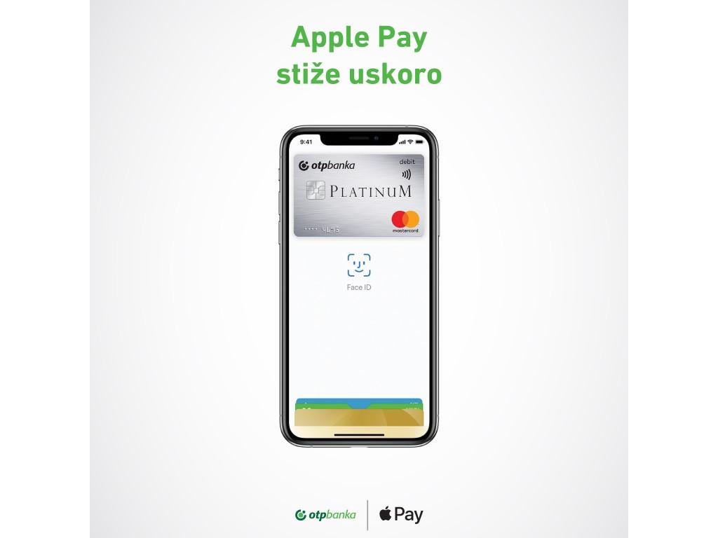 OTP banka uskoro dovodi Apple Pay