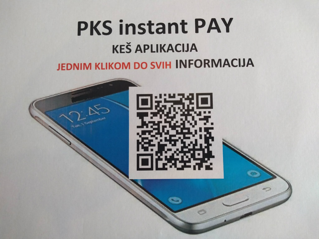 PKS instant PAY - Najnovija keš aplikacija za instant plaćanje do kraja 2019. na Google Play prodavnici