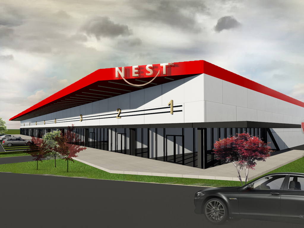 RC Europe begins construction of Retail Park NEST in Uzice – Opening in autumn 2019