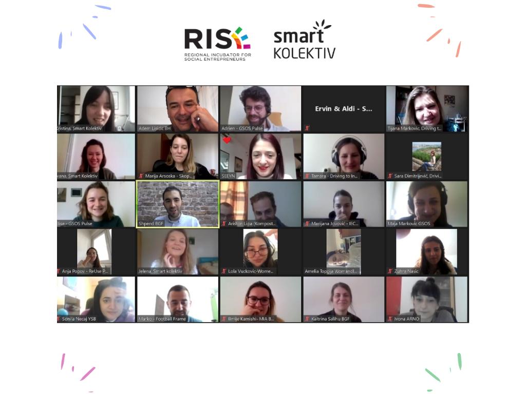 RISE finansijski podržava dva tima mladih socijalnih preduzetnica iz Srbije