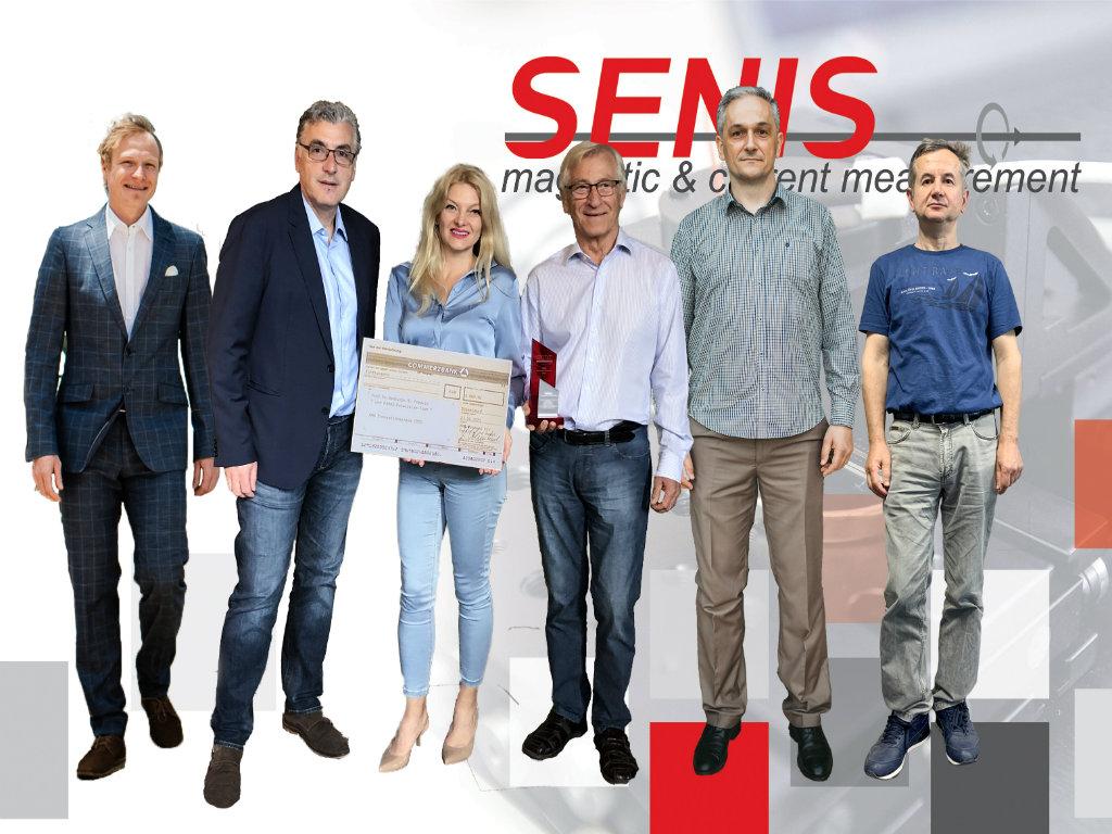 Kompanija SENIS i njen osnivač dobili priznanje za tehnička dostignuća u oblasti magnetnih senzora