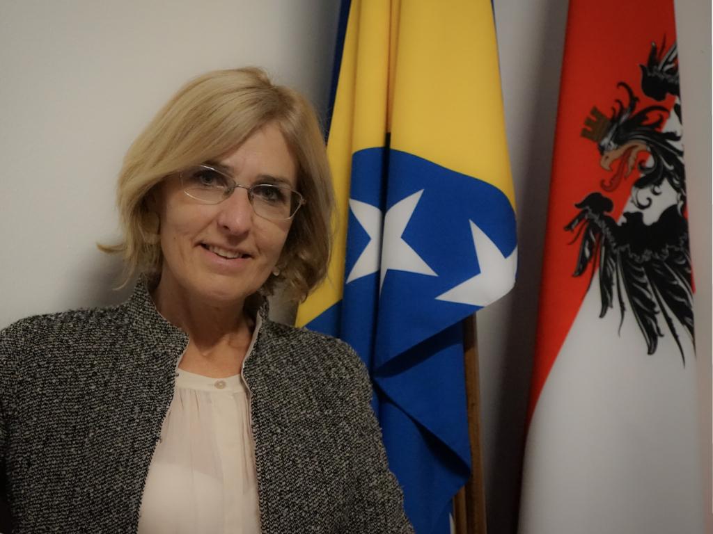 Ulrike Hartmann, ambasadorka Austrije u BiH - Privredna saradnja sa BiH je zasnovana na međusobnom povjerenju
