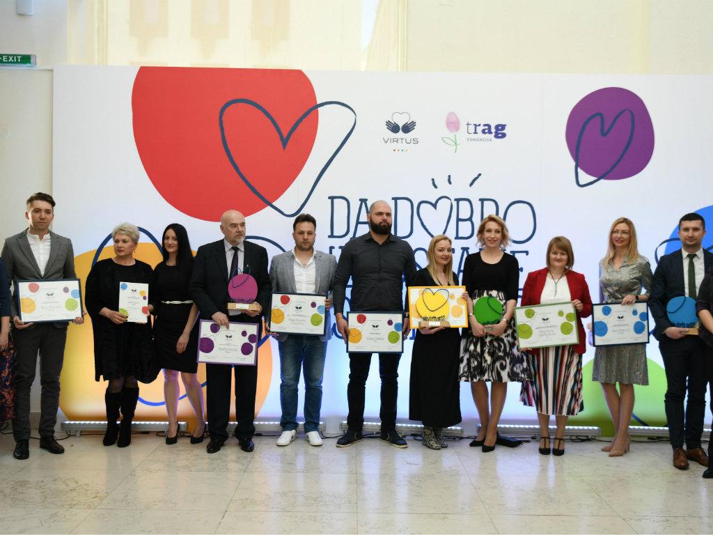 Održana 12. dodela Virtus nagrada za filantropiju