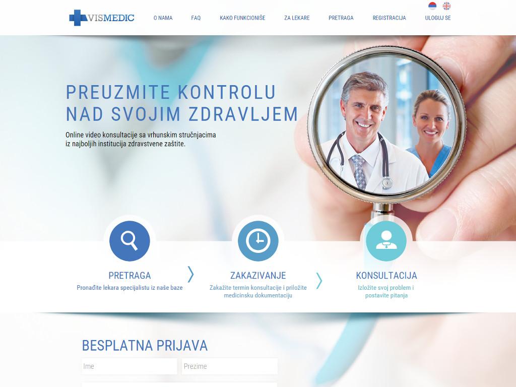 Do kraja 2017. više od 500 lekara u sistemu onlajn klinike VisMedic - Platforma za telemedicinu osvaja tržišta EU, Rusije i Srednjeg istoka