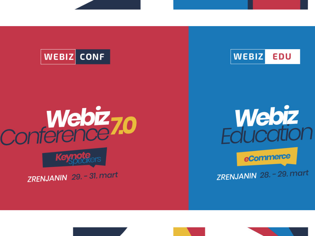 Webiz konferencija i edukacija od 28. do 31. marta u Zrenjaninu - Karte po prošlogodišnjim cenama do 31. januara