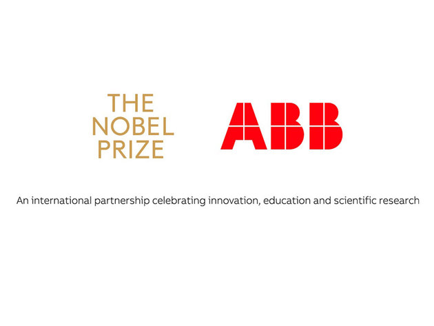 Nobel Media und ABB schlie'en internationale Partnerschaft ab