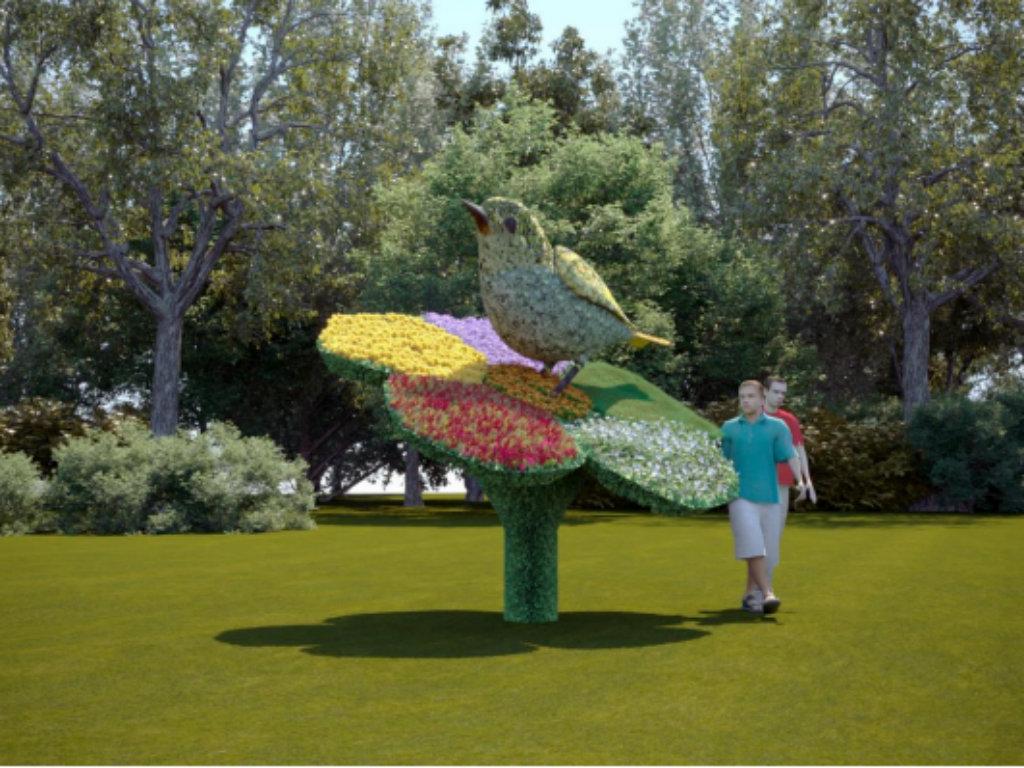 Ada Ciganlija dobija skulpturu vrapca i cveta