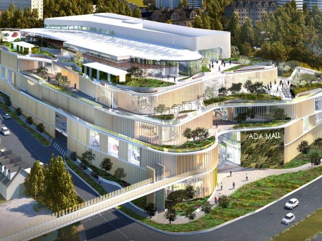 Wie das Einkaufszentrum TC Ada Mall aussehen wird