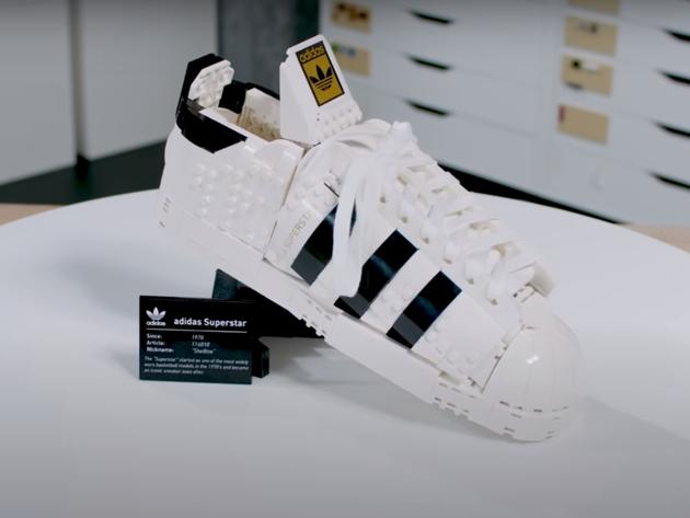 Adidas patike sada i od Lego kockica (VIDEO)