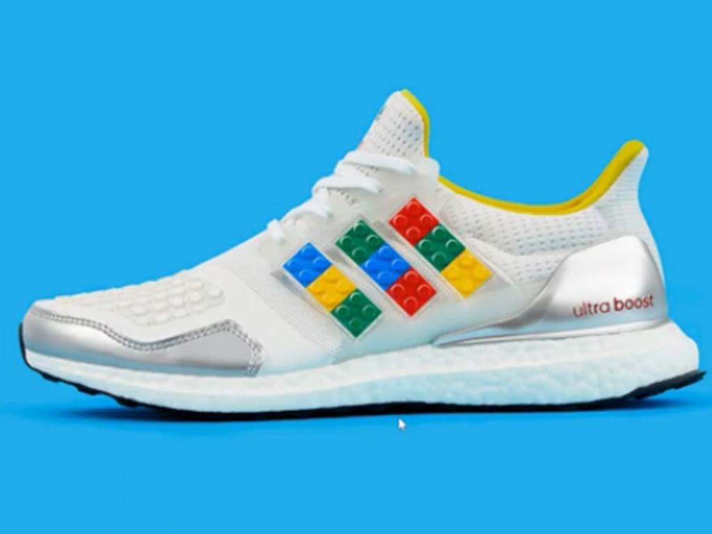 Nove Adidasove patike ukrašene Lego kockicama