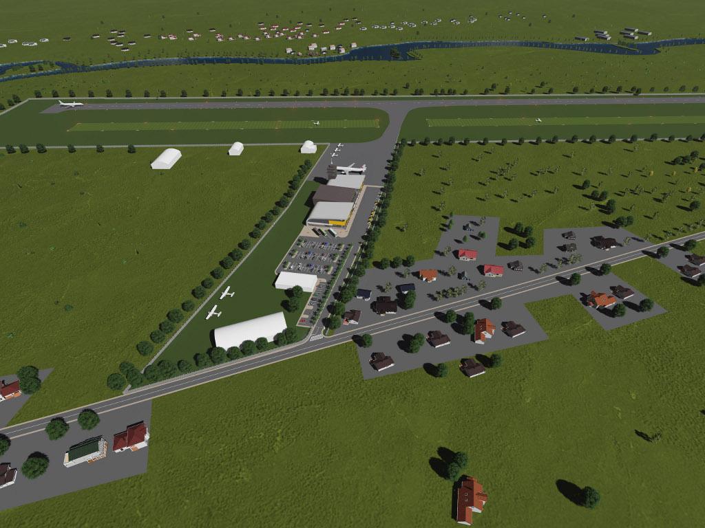Federalna vlada osigurala još 25 mil KM za aerodrom u Bihaću - U 2021. planiran početak gradnje poletno-sletne staze, zgrade i elevatora