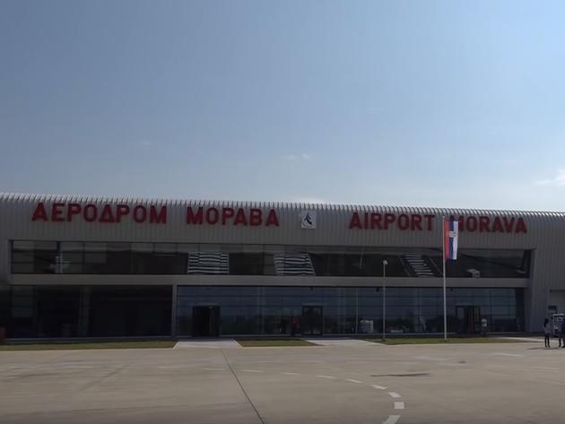 Raspisan tender za letove sa aerodroma Morava - Vrijednost trogodišnjeg ugovora 5,7 mil EUR