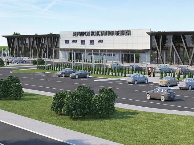 Was wird alles das neue Terminalgebäude des Flughafens in Nis enthalten  - Vorentwurf kurz vor dem Abschluss, Ausschreibung zur Erlangung der Baugenehmigung