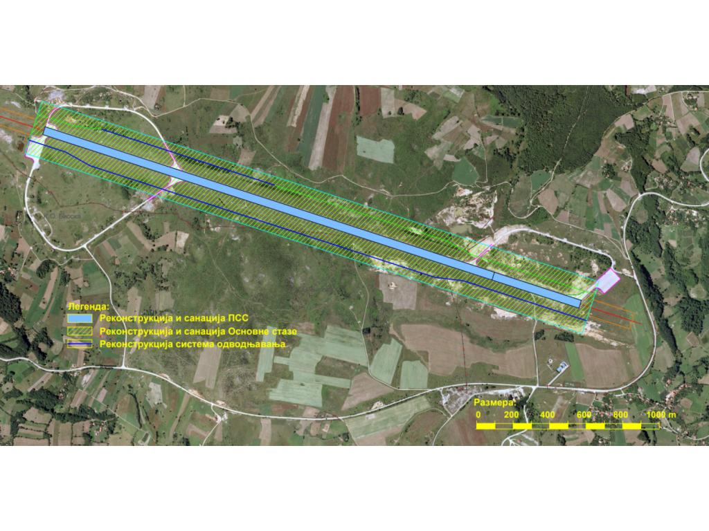 Aerodrom Ponikve dobiće platformu za parkiranje aviona i novi svetlosni sistem - U planu i rekonstrukcija preostalog dela piste